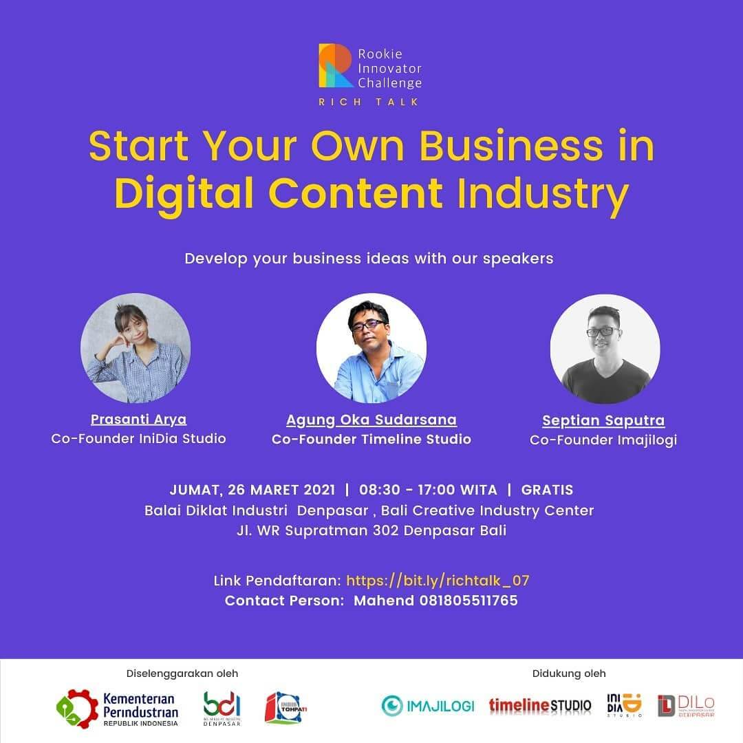 Start Your Own Business in Digital Content Industry